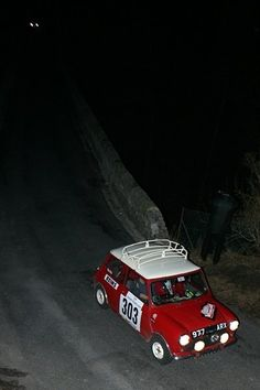 Monte Carlo Rally.. 977 ARX The oldest surviving works Cooper , still doing the business .