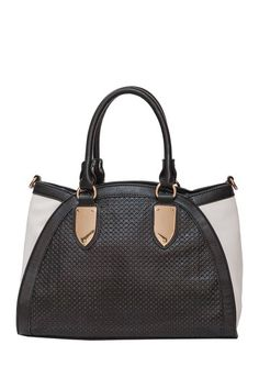 Phoebe Perforated Tote by Elise Hope on @HauteLook