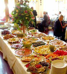 Word Of The Week Buffet Wedding Food