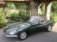 1967 Jaguar E-Type 4.2 Liter Roadster  Chassis no. 1E14588 Engine no. 7E11985-9