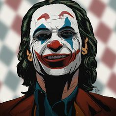 Joaquin Phoenix as Joker by Jozef Kolesar Joker Images, Joker Pics, Joker Art, Joaquin Phoenix, Comic Book Characters, Comic Character, Dc Comics, Univers Dc, Joker Wallpapers