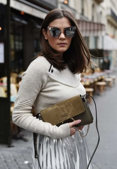 More on www.fashiioncarpet.com Sunnies by Le Specs, Sweater by Isabel Marant…