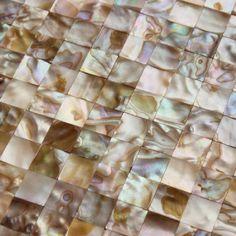 "Mother of pearl tile Kitchen backsplash tiles MB06 seamless shell mosaic tile 4/5"" natural seashell tiling bathroom wall sticker"