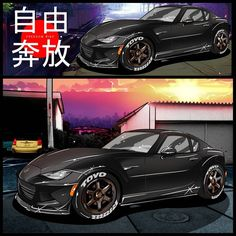 This was commissioned by @nd_rf ! This RF kinda have the same vibe as @vipgod 's Mazda ND. Its surely a superb choice of quality parts and style!  The background is a photograph from my trip to Japan, taken in Industrial site just outside Osaka, of course its been tweaked in anime style to fit the drawings   #cardrawing #carillustration #carart #cosplay #anime #itasha #jdm #illustration #drawing #otaku #drift #toyota #speedhunters #carculture #scionfrs #evox #mitsubishi #evo #drift…