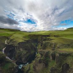 Feeling small while standing on the edge of Fjaðrárgljúfur Canyon in the Icelandic Highlands!  #Iceland #GoPro #FLY3DR #adventure by stevejenness