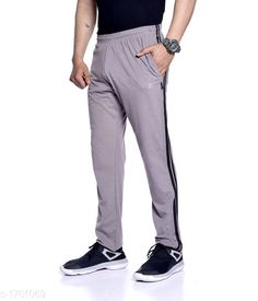 Track Pants Comfy Cotton Men's Track Pant  *Fabric* Cotton  *Size* L - 32 in, XL - 34 in, XXL -36 in  *Length* Up To 40 in  *Type* Stitched  *Description* It Has 1 Piece Of Men's Track Pant  *Pattern* Solid  *Sizes Available* M, L, XL, XXL *   Catalog Rating: ★3.9 (1835)  Catalog Name: Stylo Comfy Cotton Mens Track Pants Vol 1 CatalogID_222281 C69-SC1214 Code: 523-1701069-