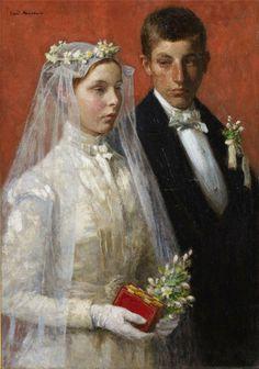 """Gari Melchers  """"Eine Ehefrau ist die Hecke zwischen den kostbaren Blüten des männlichen Geistes und der Hitze und dem Staub der gemeinen alltäglichen Plackerei.""""    Elizabeth von Arnim"""