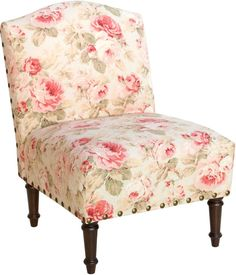 Transitional Chair Seat Cotton Pine Accent Camel Back Upholstered Furniture New #SkylineFurniture #Transitional #Furniture #Chair #Seat #LivingRoom