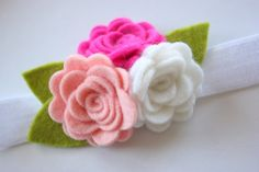 flower girl headbands