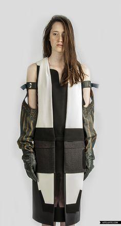 'Natsili Samshoblo' Fashion Collection // George Rostiashvili | Afflante.com