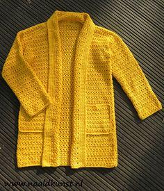 Vest Hello Sunshine  Gehaakt vest, super makkelijk te maken!
