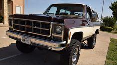Chevy Blazer K5, K5 Blazer, Jeep 4x4, Gm Trucks, Cool Trucks, Camper Van Conversion Diy, Trucks And Girls, Square Body, Chevy Pickups