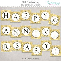 Hey, I found this really awesome Etsy listing at https://www.etsy.com/listing/116886867/instant-download-50th-anniversary-banner