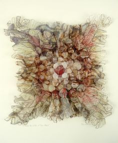 Siân Martin is an artist of many talents who studied Textiles at the University of Birmingham between 1969 and She. Art Textile, Textile Artists, Textile Design, Creative Embroidery, Embroidery Art, Textile Courses, Textiles Techniques, Shibori Techniques, Contemporary Embroidery