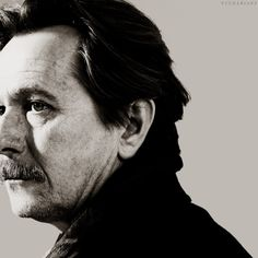 Gary Oldman- brilliant character actor who rarely receives recognition. Age and facial hair only add to his appeal. <3