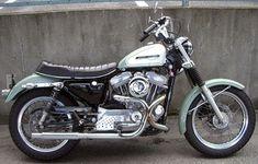 Custom Harley-Davidson XL Sportster 1986-2003 | H-D XLH Sportster late 1950's look #harleydavidsonsportsterroadster