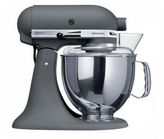 Mountain Hardware carries the KitchenAid Artisan KSM150 Stand Mixer in Imperial Grey and many more colors!