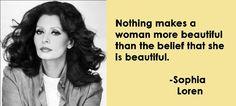 Sophia Loren just being beautiful
