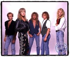 def leppard band | photo-Def-Leppard-rock-band-pour-some - Основной альбом ...
