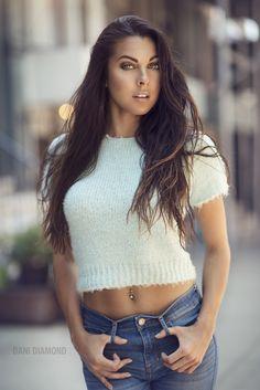 Photo Krystina - Natural Light by Dani Diamond on Fashion Beauty, Girl Fashion, Womens Fashion, Dani Diamond, Hey Gorgeous, Beautiful, Portraits, Just Beauty, Perfect Woman