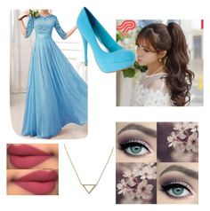 """""""Princess"""" by isabella3612 ❤ liked on Polyvore featuring Pin Show, tarte and Banana Republic"""