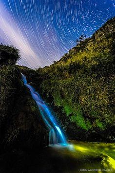Night At Raven's Craig Falls | by john&mairi