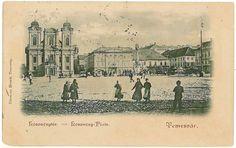 Timisoara - Piata Unirii - 1899
