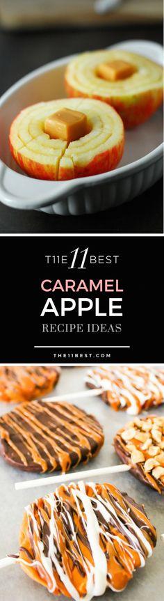 The 11 Best caramel apple recipe ideas