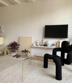 Interior Exterior, Home Interior, Interior Architecture, Living Room Decor, Living Spaces, Living Rooms, Deco Studio, Aesthetic Room Decor, My New Room