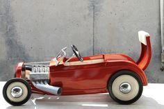 Detroit Auto Show pedal car