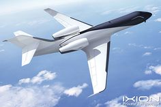 IXION Windowless Jet Concept by Technicon Design France, via Behance