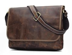 men leather briefcase /leather laptop bag/leather by SamanthaDWong