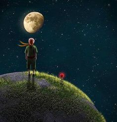Moon boy... Little Prince Quotes, The Little Prince, Sister Photos, Good Night Moon, Family Holiday Destinations, Pretty Wallpapers, Beauty Art, The Good Old Days, Stars And Moon