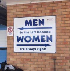 Best restroom sign I've seen!