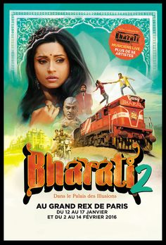 BHARATI 2 - GRAND REX à PARIS 02 - du 12/01/2016 au 14/02/2016