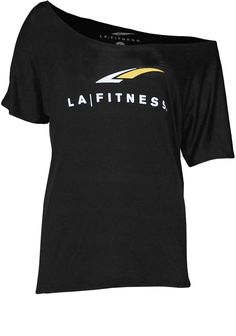 LA Fitness™ off-the-shoulder top. I may have to get this, to layer over #yoga tanks.