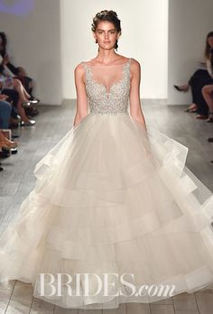 Wedding dress by Lazaro