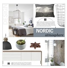 """""""Untitled #355"""" by zitanagy ❤ liked on Polyvore featuring interior, interiors, interior design, home, home decor, interior decorating, Menu, By Nord and Skagerak"""