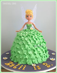Tinkerbell cake by Kat's Cakes, via Flickr