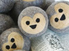 Waldorf Wool Ball Kit: Learn to Make Your Own Felted Wool Hedgehog