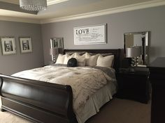 Want to Know More About Master Bedroom Paint Colors - beterhome pai. Want to Know More About Master Bedroom Paint Colors - beterhome paint colors grey Small Master Bedroom, Master Bedroom Design, Modern Bedroom, Trendy Bedroom, Master Bedrooms, Bedroom Designs, Girls Bedroom, Bedroom Colors, Bedroom Decor