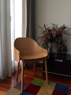 Callahan Dining Chair. Oak. Habitat.