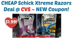WOOHOO! Loving this new coupon, makes for a HOT deal at CVS or use at your favorite store! CHEAP Schick Xtreme Razors Deal @ CVS ~ NEW Coupon!  Click the link below to get all of the details ► http://www.thecouponingcouple.com/cheap-schick-xtreme-razors-deal-cvs/ #Coupons #Couponing #CouponCommunity  Visit us at http://www.thecouponingcouple.com for more great posts!