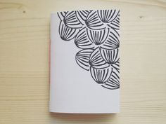 Pocket Notebook Hand Printed Journal with by mipluseddesign, $14.00