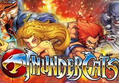 Based on the 1980's TV cartoon, Blueprint release the Thundercats #slot with 5 base game and 5 free spins bonuses- http://freeslotmoney.com/thundercats-online-slot/
