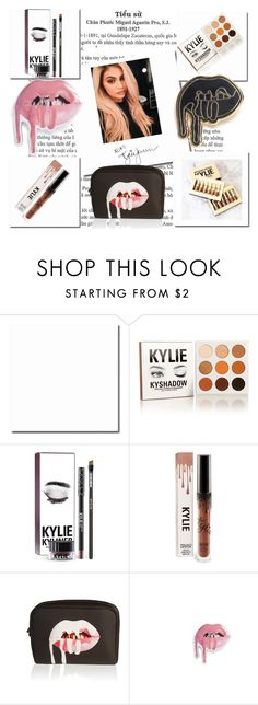 """""""Kylie Kosmetics"""" by oliviaboston ❤ liked on Polyvore featuring beauty, ColourPop, Justin Bieber and Kylie Cosmetics"""