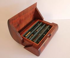 Art Deco Pen Box