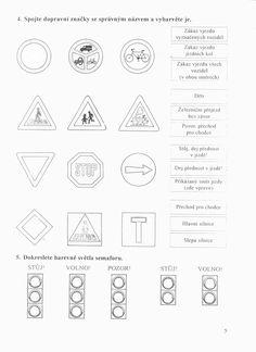 Dopravní značky Kids English, Leo, Words, School, Hall Runner, Traffic Sign, Lion, Schools, Horse