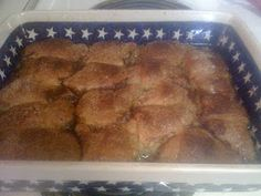 Apple Dumplings (Made with crescent rolls and Mountain Dew!)