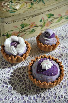 Carta e Cuci: I Pasticcini Viola